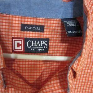 Chaps Shirt, XXL, Coral block Shirt